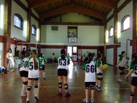 Partita di pallavolo