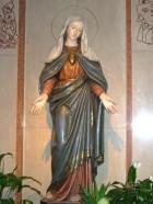 La statua della Madonna Addolorata