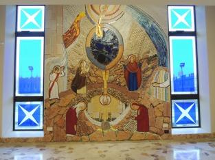 Mosaico della cappella feriale