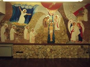 Mosé e i profeti, il Battesimo di Gesù, l'annuncio a Maria, Giuseppe